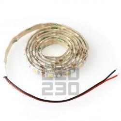 LED pásik 11W, 60 LED, Studená biela, zaliaty