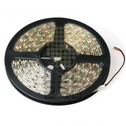 LED pásik 5m, 52W, 300 LED, Studená biela, zaliaty