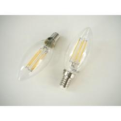 LED žiarovka E14 4W retro