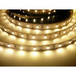 LED pásik 12W, 60 LED, CRI 91, nezaliaty - Teplá biela
