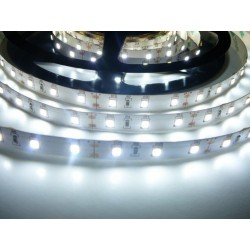 LED pásik 12W, 60 LED, CRI 93, nezaliaty - Studená biela