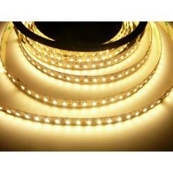LED pásik 20W, 120 LED, CRI 91, nezaliaty - Teplá biela