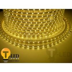 LED pásik 230V, 3.5W, 60 LED, IP67, Teplá biela