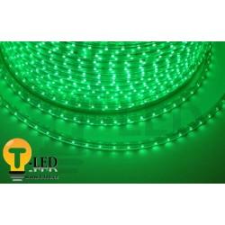 LED pásik 230V, 3.5W, 60 LED, IP67, Zelená