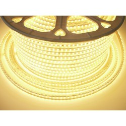 LED pásik 230V, 7W, 120 LED, IP67, Teplá biela