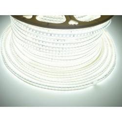 LED pásik 230V, 7W, 120 LED, IP67, Studená biela