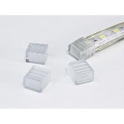 Koncovka jednofarebného LED pásika na 230V