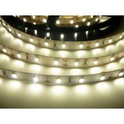 LED pásik 12W, 60 LED, 24V, Denná biela, nezaliaty