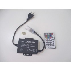 LED ovládač RGB LED pásikov 230V-28B