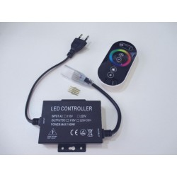 LED ovládač RGB LED pásikov RING