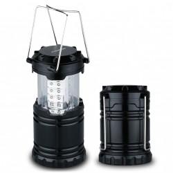 LED lampáš 3xAA 30xLED čierna