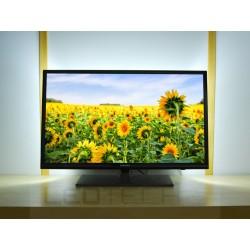 LED osvetlenie televízora jednofarebné s diaľkovým ovládačom