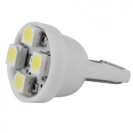 LED žiarovka T10 W5W 4xSMD biela