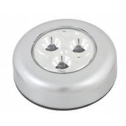 LED Osvětlení 3xAAA 3xLED stříbrné