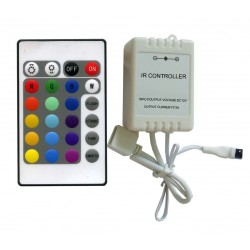 LED ovládač IR24B RGB