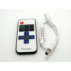 LED ovládač RF Mini 1CH s DC konektormi