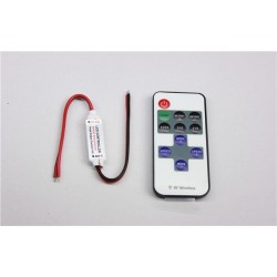 LED ovladač RF Mini 1CH bez konektorů