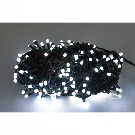 Vianočná LED reťaz - osvetlenie - Biele - 150 LED 15 metrov