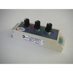 LED ovládač RGB manuálny