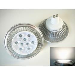LED žiarovka GU10 AR111 CREE 11W 60° denná biela