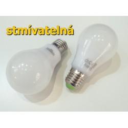 LED žiarovka E27 9W stmievateľná
