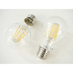 LED žiarovka E27 8W FILAMENT teplá biela