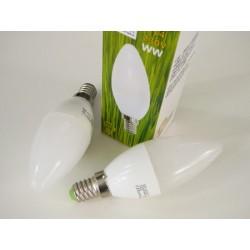 LED žiarovka E14 5W sviečka