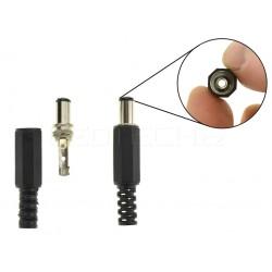 DC konektor napájací káblový samec
