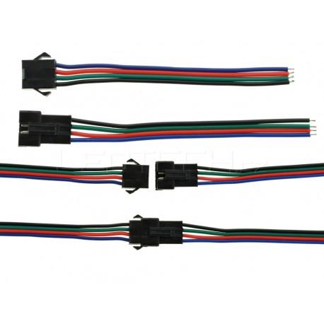 Spojovacia sada s konektorom pre RGB pásiky