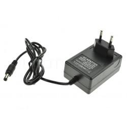 LED zdroj 12V 24W zásuvkový čierny