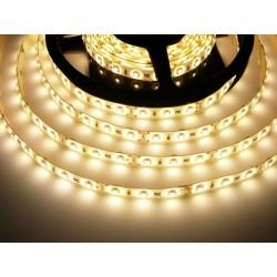 LED pásik 4.8W, 60 LED, zaliaty IP 50 economy - Teplá biela