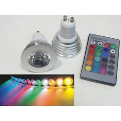 LED žiarovka RGB16-2 GU10 - 60°