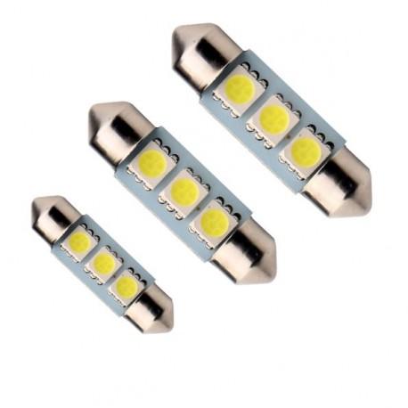 LED sufitka 36mm 3x 3SMD biela