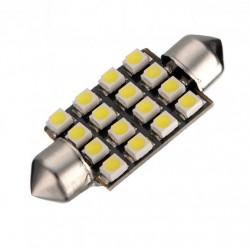 LED sufitka 39mm 16x SMD biela