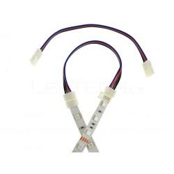 Click spojka s káblom pre RGB pásik 10mm