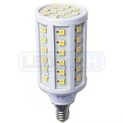 LED žiarovka 9W, E14, oválna, teplá biela
