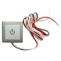 Nástenný dotykový LED ovládač NDS1 pre jednofarebné LED pásiky