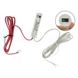 Bezdotykový skriňový a mávnutím LED spínač 2v1 pre jednofarebné LED pásiky
