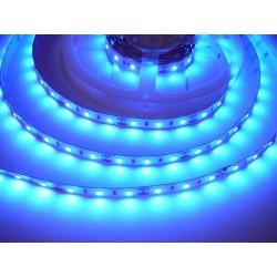 LED pásik 12W, 60 LED, Nezaliaty IP 20 - Modrá