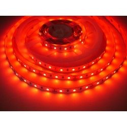 LED pásik 12W, 60 LED, Nezaliaty IP 20 - Červená