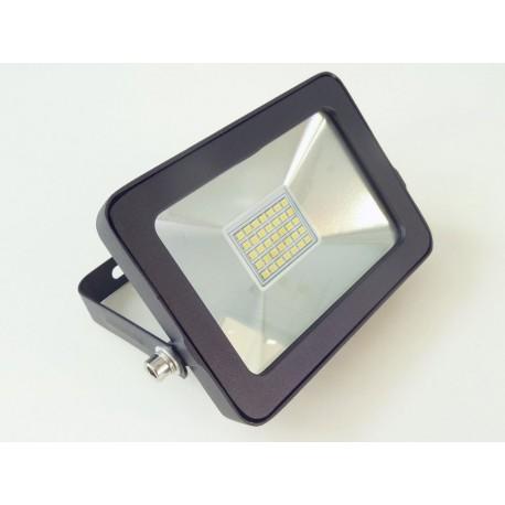 LED reflektor obdĺžnikový 15W čierny