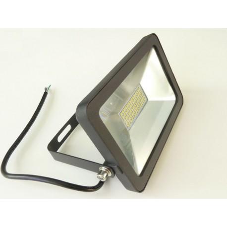 LED reflektor obdĺžnikový 30W čierny