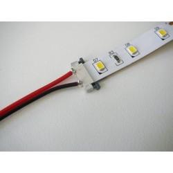 Spojka pre jednofarebný LED pásik s káblom 8mm
