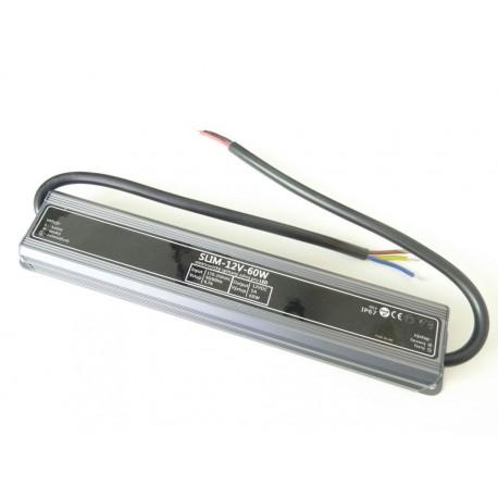 LED zdroj 12V 60W IP67 SLIM
