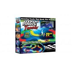 Magic Tracks - svietiaca autodráha