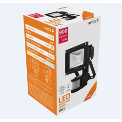 LED reflektor 10W s PIR pohybovým senzorom