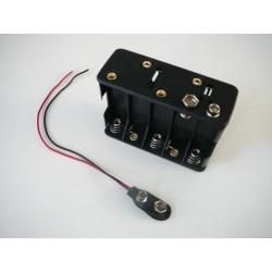 Držiak batérie 10XR6/AA/UM3