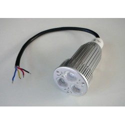 RGB LED žiarovka 12W 60° 12VDC - RGB