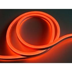 LED NEÓN pásik 230V - Červený
