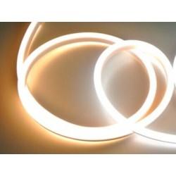 LED NEÓN pásik 230V - Teplo biely